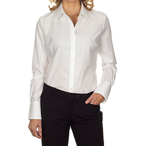 Calvin Klein Ladies' No-Iron Dobby Shirt #13CK030