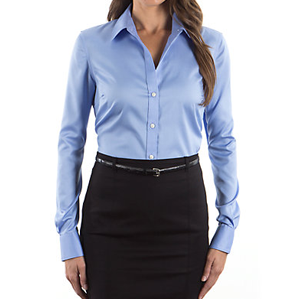 Ladies' Long Sleeve Easy-Care Shirt #13V0114