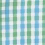 Ladies Long Sleeve Gingham Easy Care Shirt #L654 - Green & Aqua, thumb